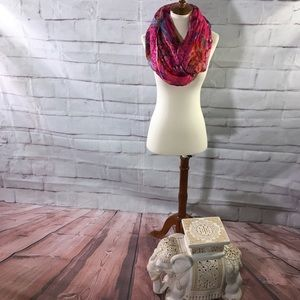 Feathers by Tolani Infinity Scarf